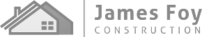 James Foy Construction Logo Greyscaled