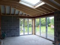 Internals of an extension we constructed in Liverpool.