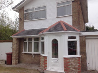 Porch/Roof finished in Kirkby