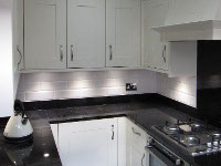 New kitchen installation including all tiling